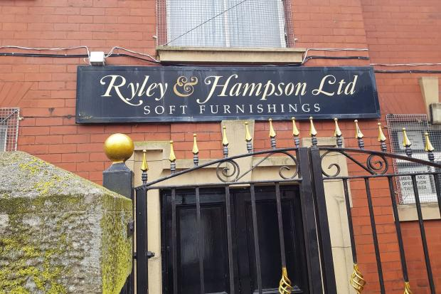 Ryley and Hampson Soft Furnishings, Griffin House, Newcastle Street, Blackburn
