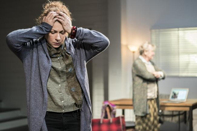 Alex Kingston in Admissions (Picture: Johan Persson)