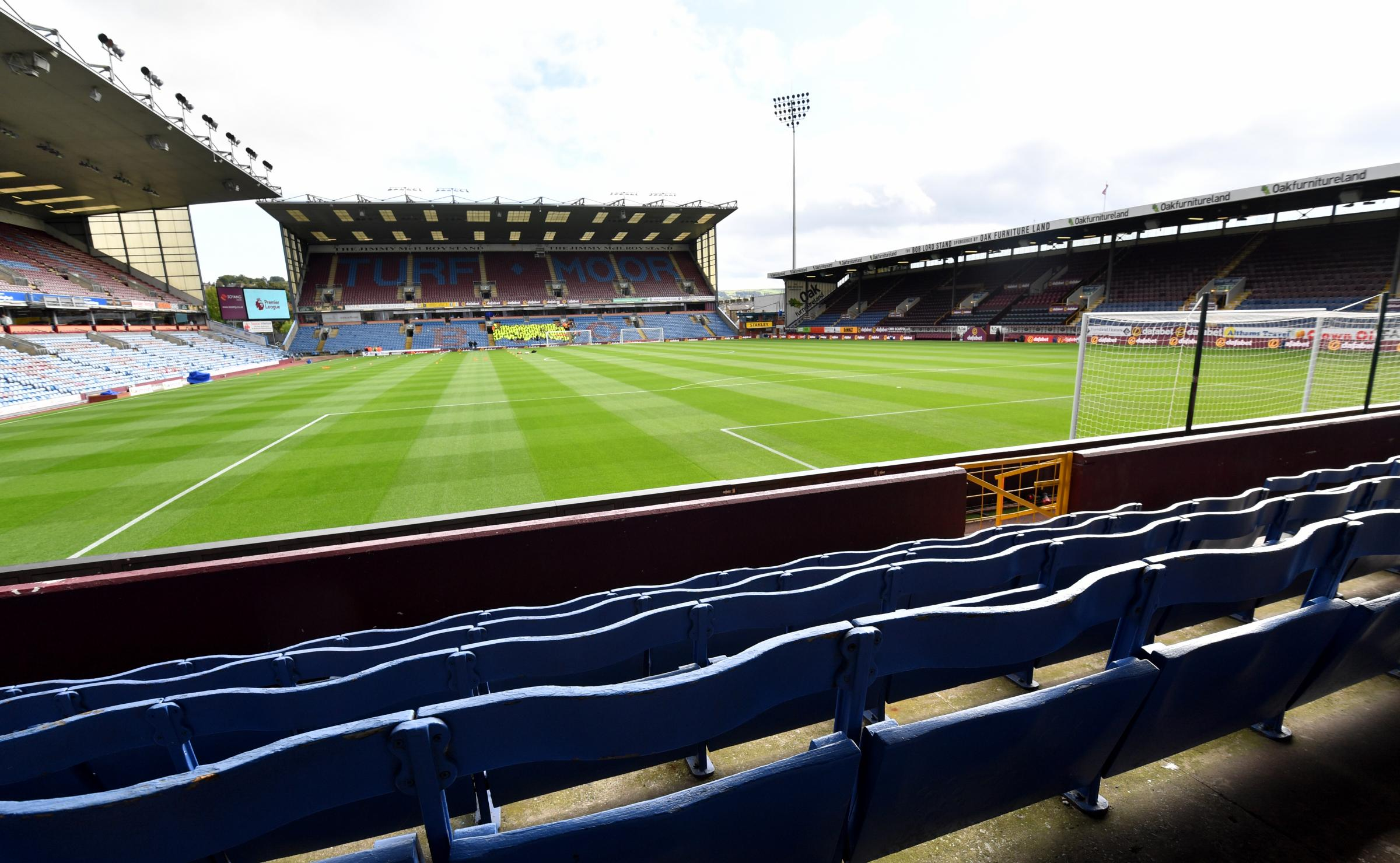 Burnley fans' chance to own piece of Turf Moor history