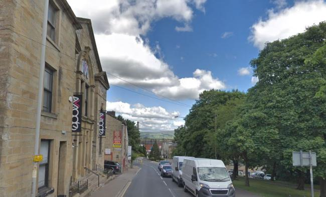 The attack took place outside Mode nightclub in Burnley