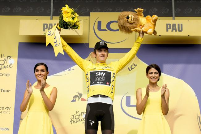 Geraint Thomas is confident he will be able to defend his Tour de France title next month
