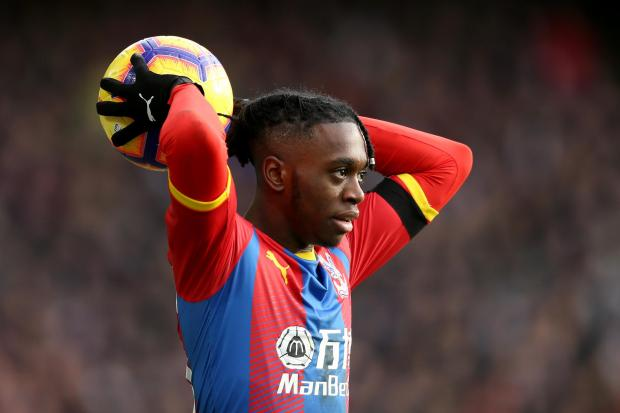 Crystal Palace's Aaron Wan-Bissaka is head to the north west
