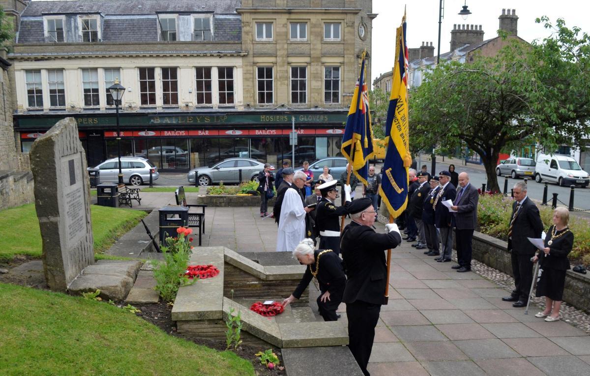 Service commemorates battalion's Somme sacrifice