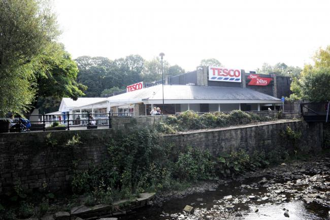 Rawtenstall Tesco, which is now a Jack's supermarket