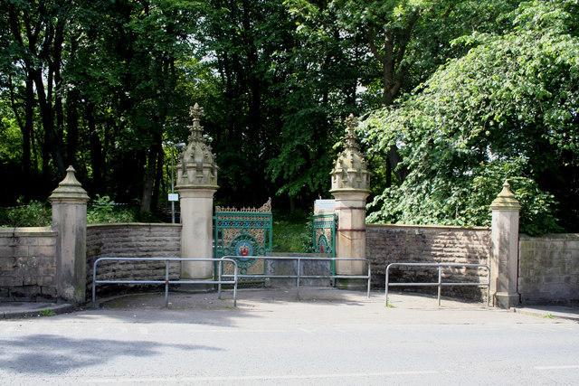 Stubbylee Park, Bacup..