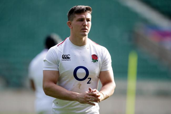 Tom Curry has revealed that England's World Cup training squad are watching Love Island to unwind