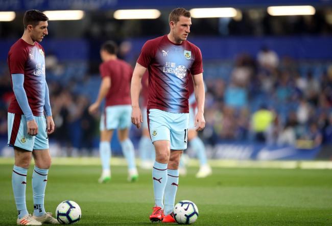 Chris Wood scores in Burnley's friendly win over Fulham