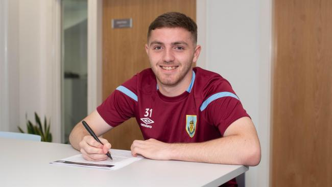Ryan Cooney. Picture: Burnley FC
