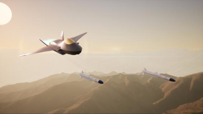 Team Tempest Future Combat Air System concept. Copyright BAE Systems..