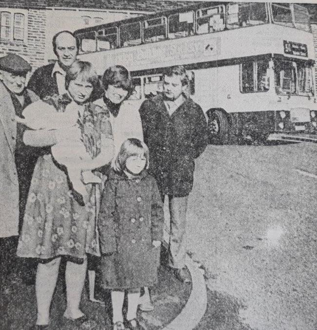 Some of the residents who had to endure the misery of the double decker bus effect in 1980