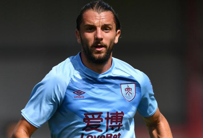 Jay Rodriguez made his Burnley return at Crewe on Saturday
