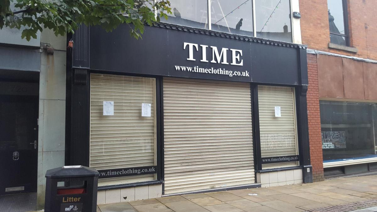 Administrators called in for East Lancs clothing chain