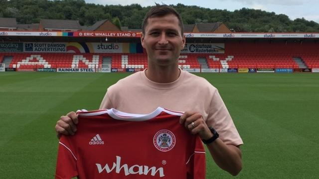 Stanley have announced the signing of Phil Edwards