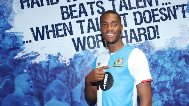 Tosin Adarabioyo signed for Rovers on loan from Manchester City