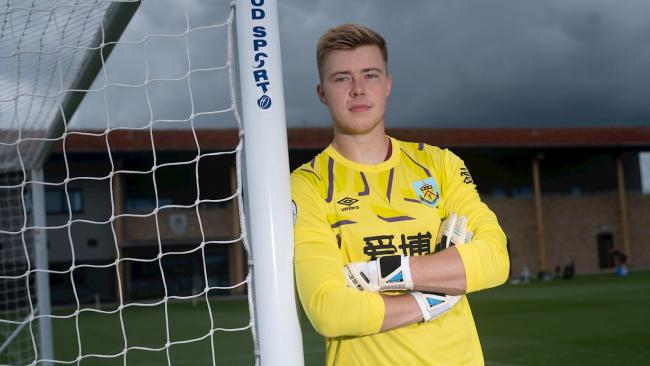 Bailey Peacock-Farrell. Picture: Burnley FC