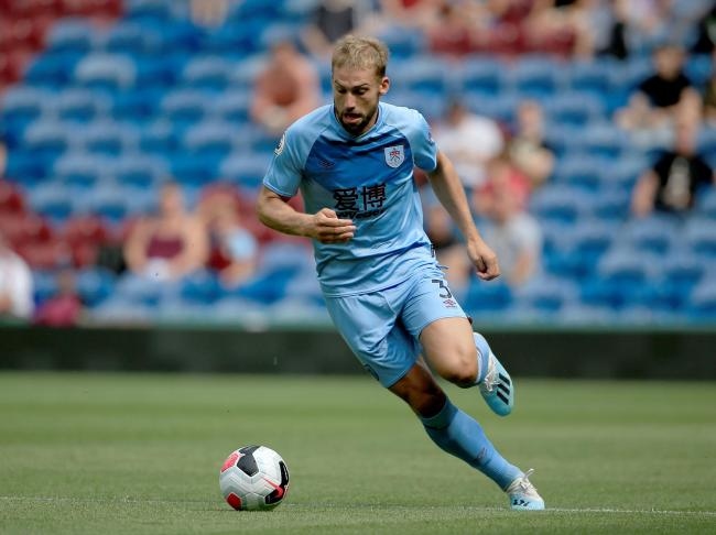 Charlie Taylor will be in Burnley's squad for the match at Arsenal