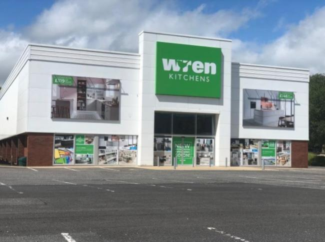 The new Wren outlet at the Peel Centre in Whitebirk