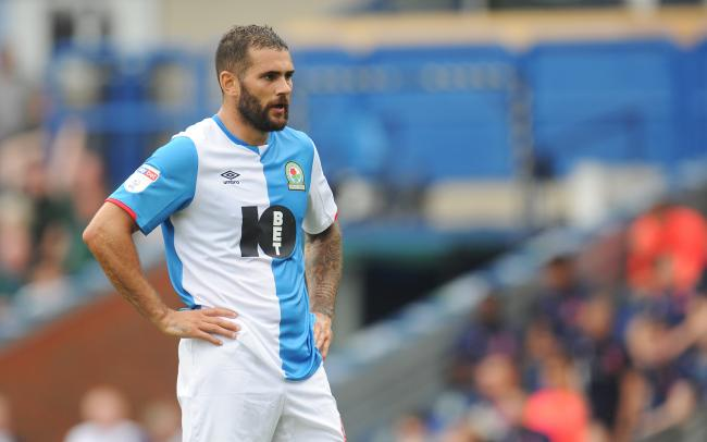 Bradley Johnson made his Rovers debut against Charlton