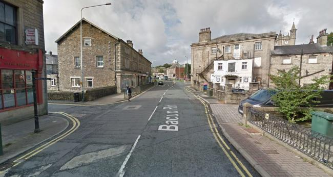 A general view of Bacup Road in Rawtenstall