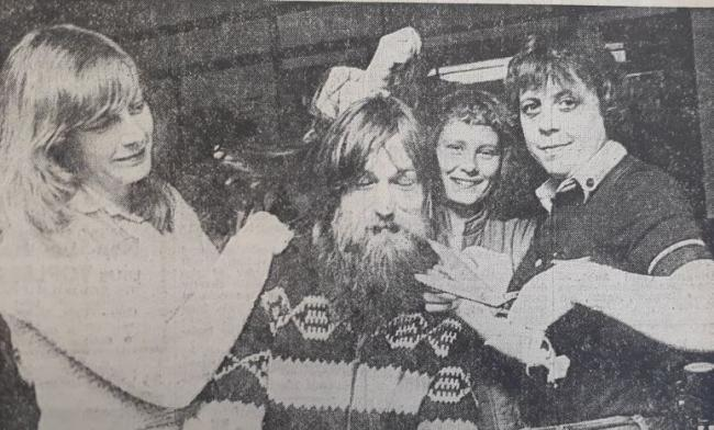 Jimmy Rushton from Haslingden had not had a haircut for five and a half years. His flowing locks had been the subject of many a joke, but in 1980, Mr Rushton finally got the chop, and all for a good cause. Friends at the Forresters Arms in Haslingden rope