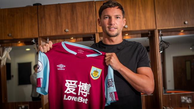 Danny Drinkwater has signed for Burnley on loan from Chelsea