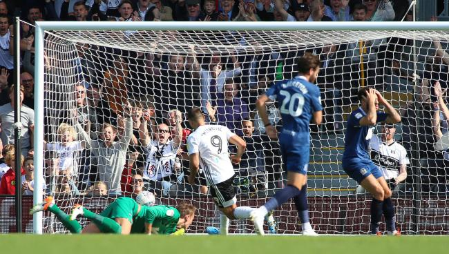 Derrick Williams was frustrated by Fulham's second goal scored by Aleksandr Mitrovic