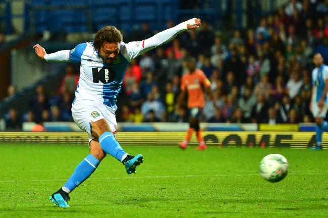 Bradley Dack fires home Rovers' first equalising goal