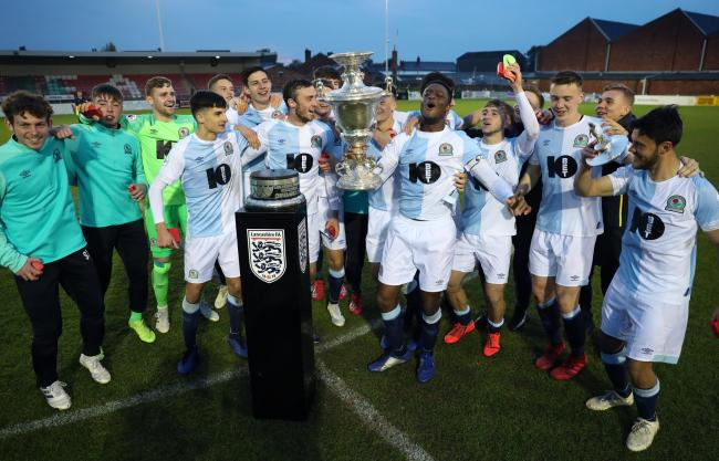 Rovers beat Burnley in the Lancashire Senior Cup final in May