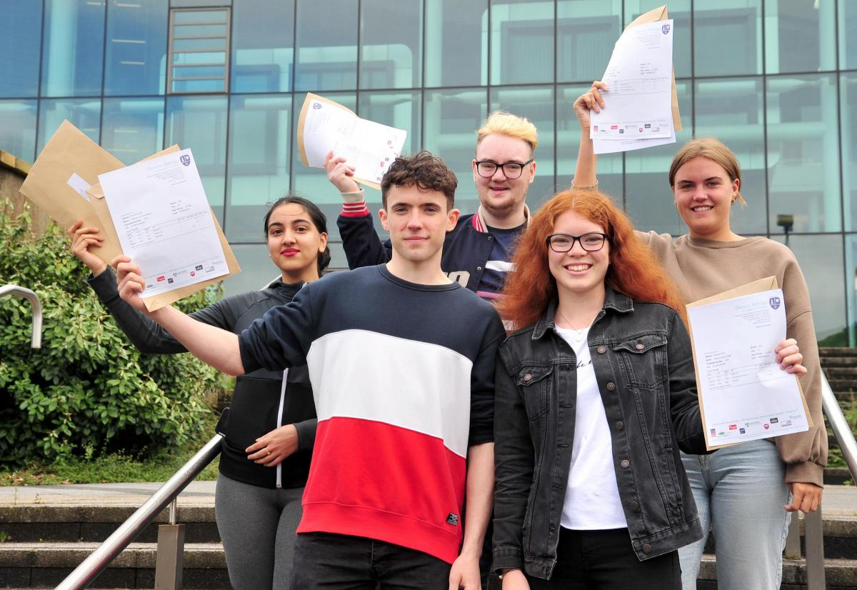 Half of students get A* to B or distinction * to distinction in this year's results