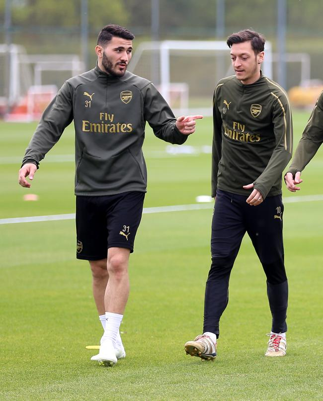 Sead Kolasinac and Mesut Ozil missed Arsenal's win at Newcastle due to security fears