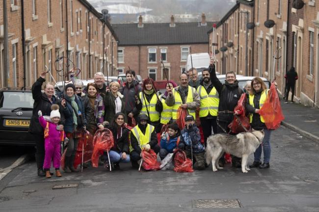 More than 1,000 people have volunteered to help clean Blackburn with Darwen's streets
