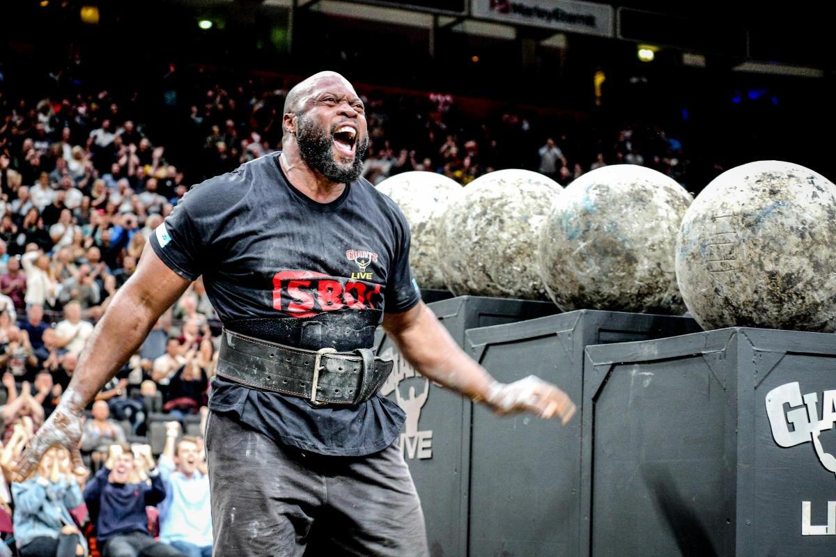 Strongman Mark Felix set for Manchester Arena show