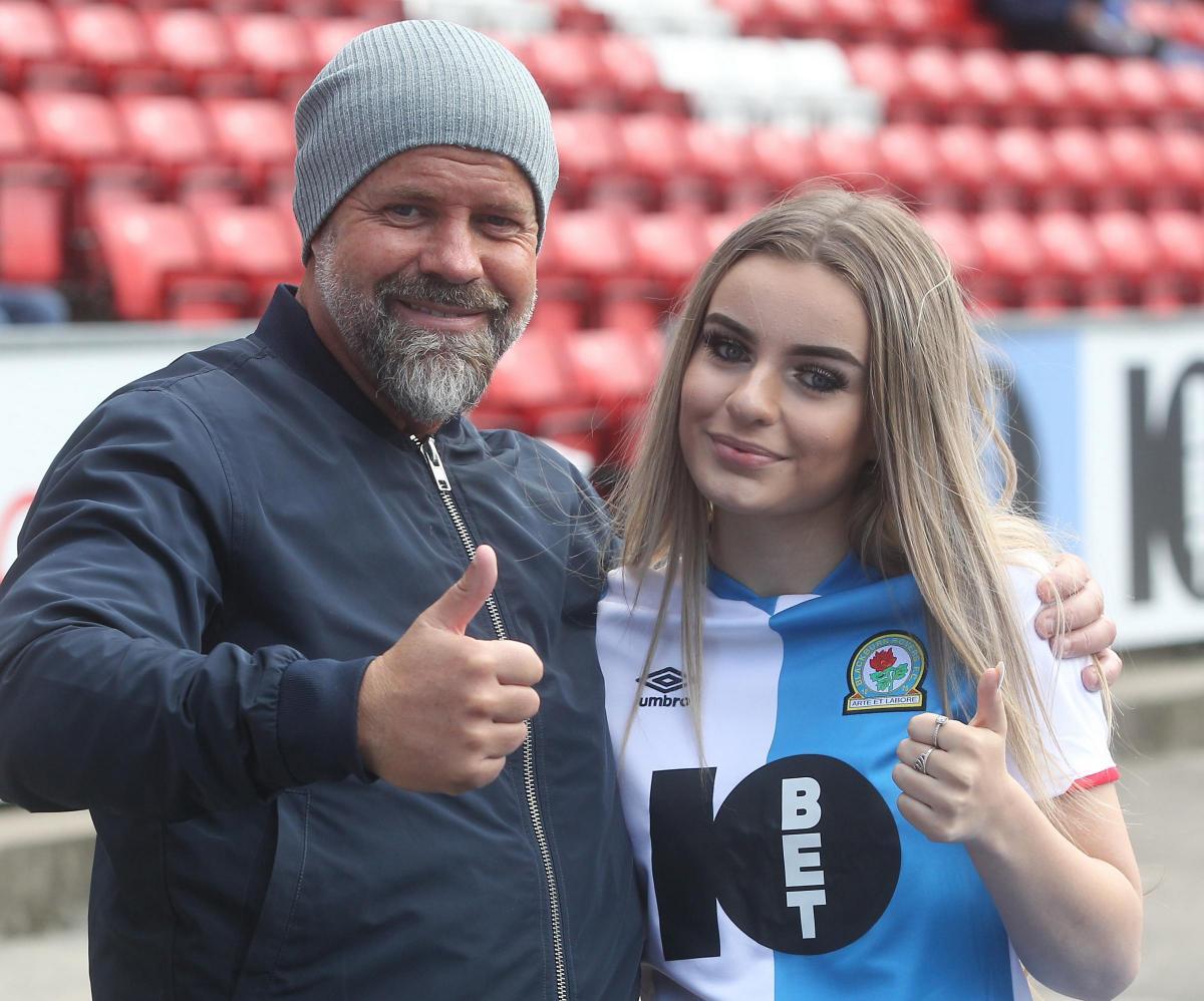 e8982c05 Blackburn Rovers fans at the Middlesbrough game | Lancashire Telegraph