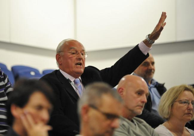 Cllr John Pearson, who made the accusation as outline plans approved for up to 35 homes on local authority-owned land