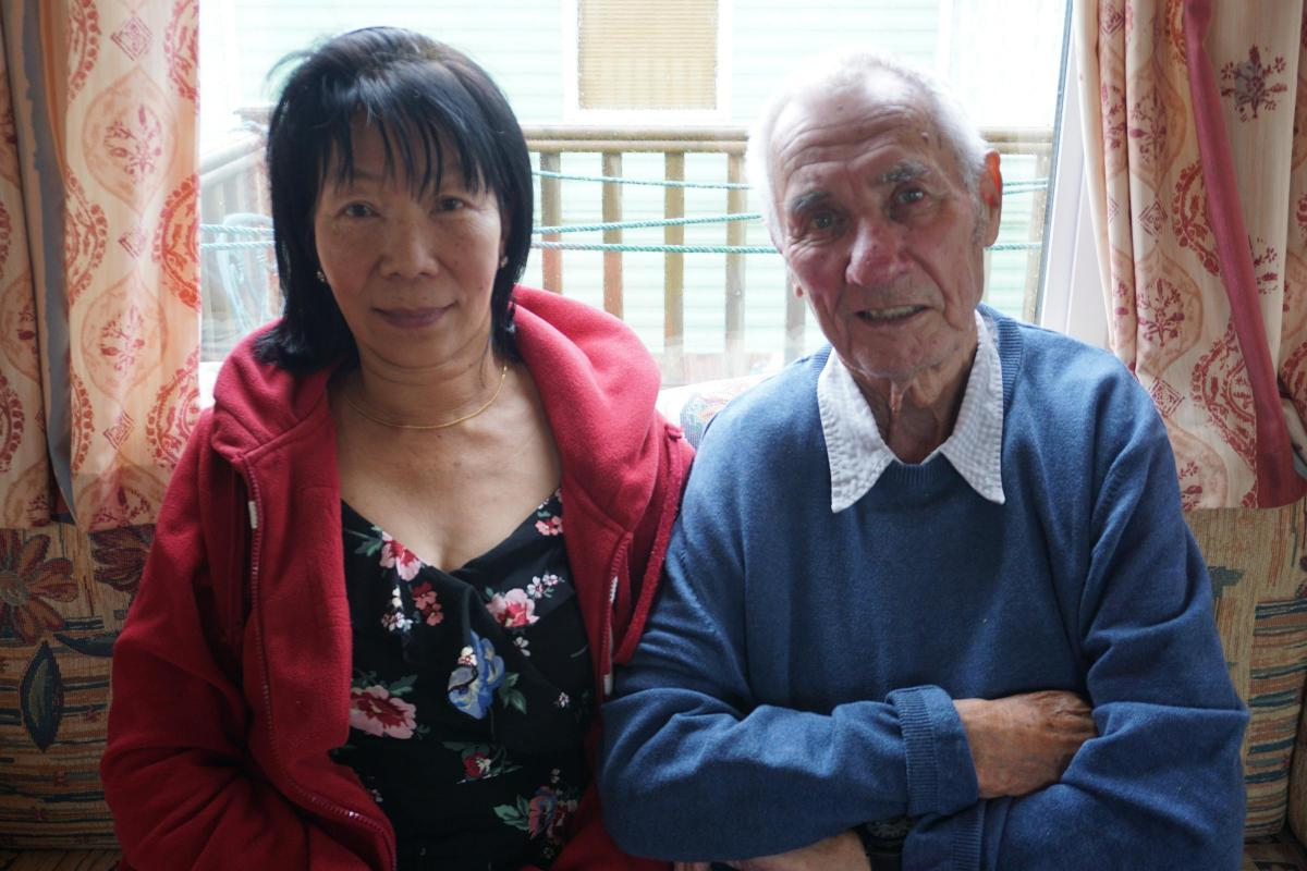 Dying pensioner's plea: Let my wife stay in this country