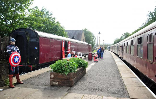 Rawtenstall Station for the Sci-fi weekend.