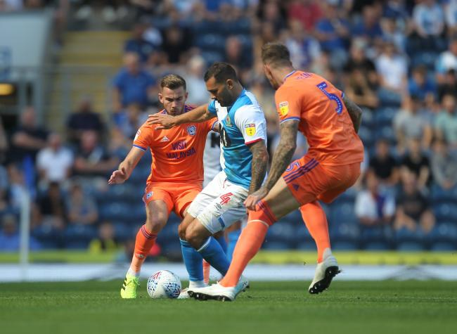 It was a stalemate between Rovers and Cardiff at Ewood