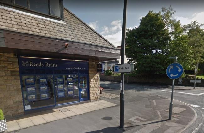 The former Reeds Rains estate agents in Longridge