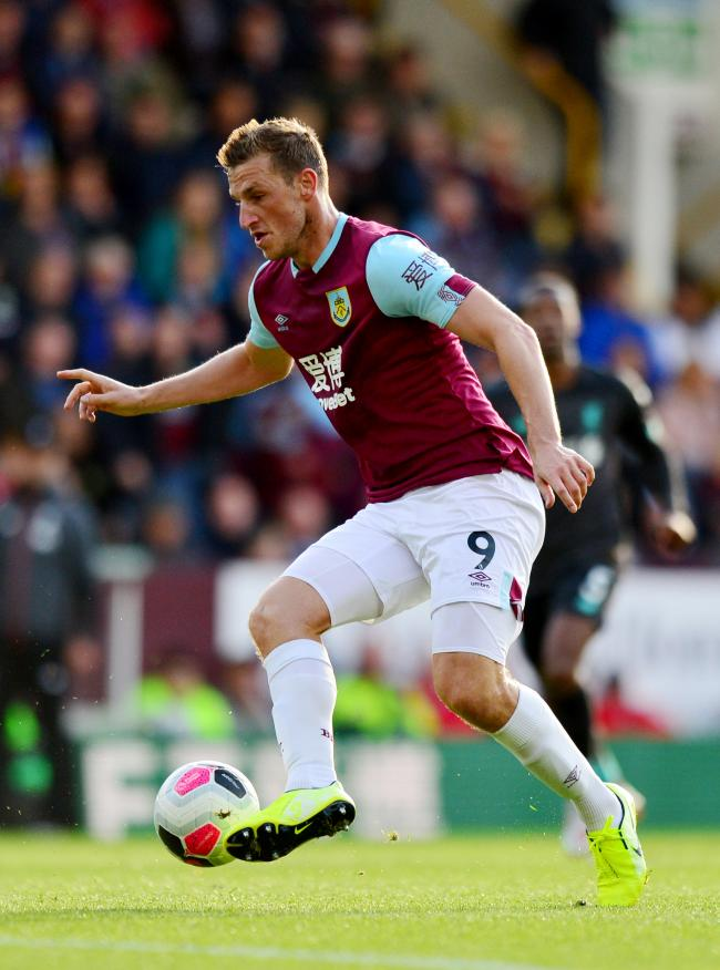 Burnley's Chris Wood during the Premier League match at Turf Moor, Burnley. PRESS ASSOCIATION Photo. Picture date: Saturday August 31, 2019. See PA story SOCCER Burnley. Photo credit should read: Anthony Devlin/PA Wire. RESTRICTIONS: EDITORIAL USE ONL