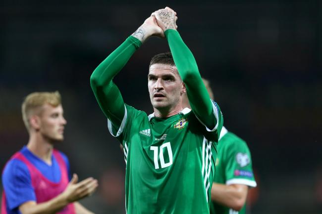 Northern Ireland striker Kyle Lafferty joined League One Sunderland last week