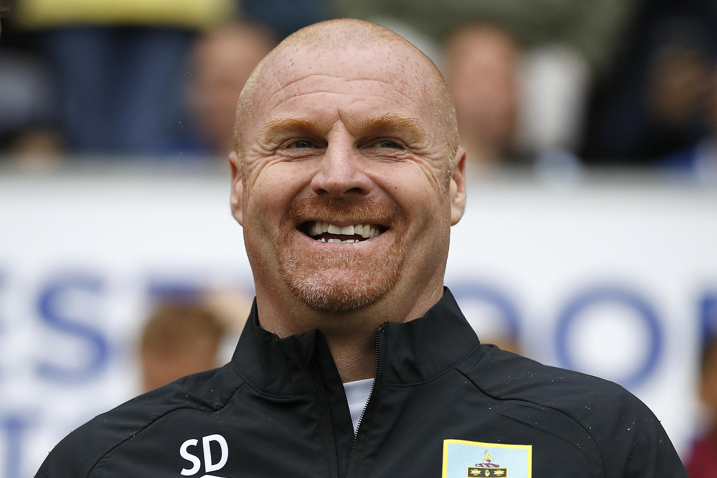 Burnley boss Sean Dyche is pleased with the start