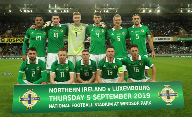 Corry Evans captained Northern Ireland against Luxembourg