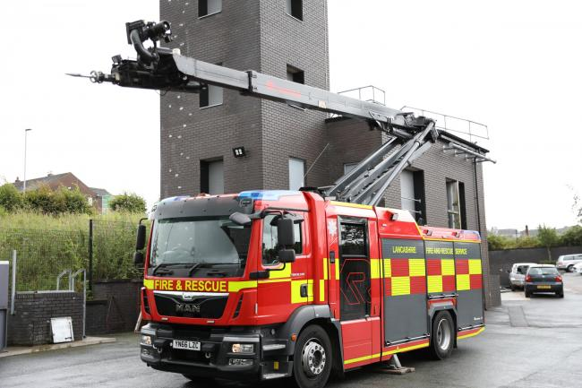 Name the new LFRS fire engine
