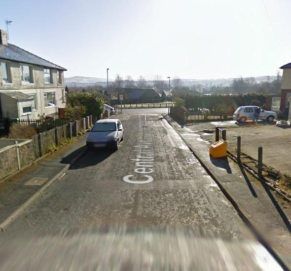 Google street view of Central Avenue, Oswaldtwistle, where one of the fires happened