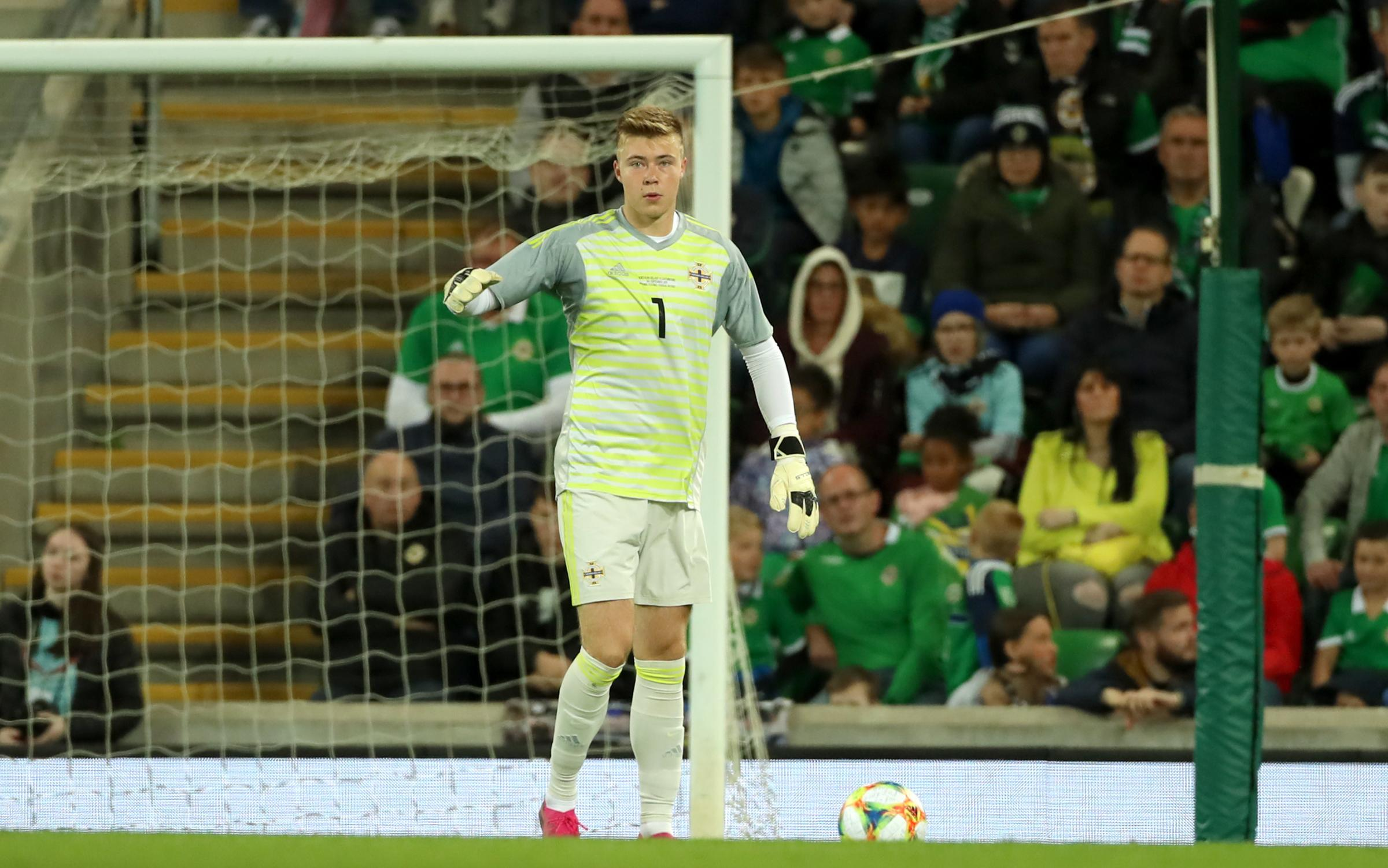 Peacock-Farrell needs football says Northern Ireland boss