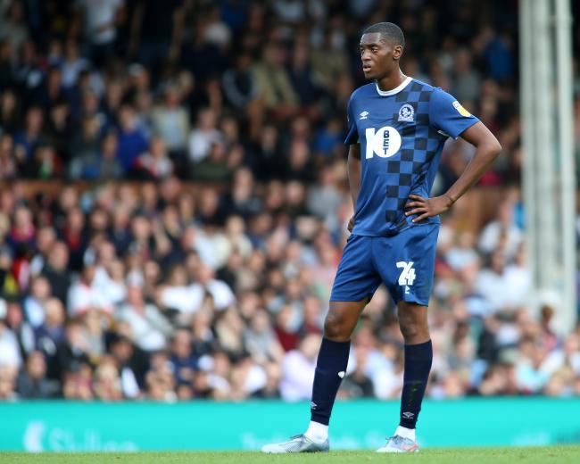 Tosin Adarabioyo made his Rovers debut at Fulham