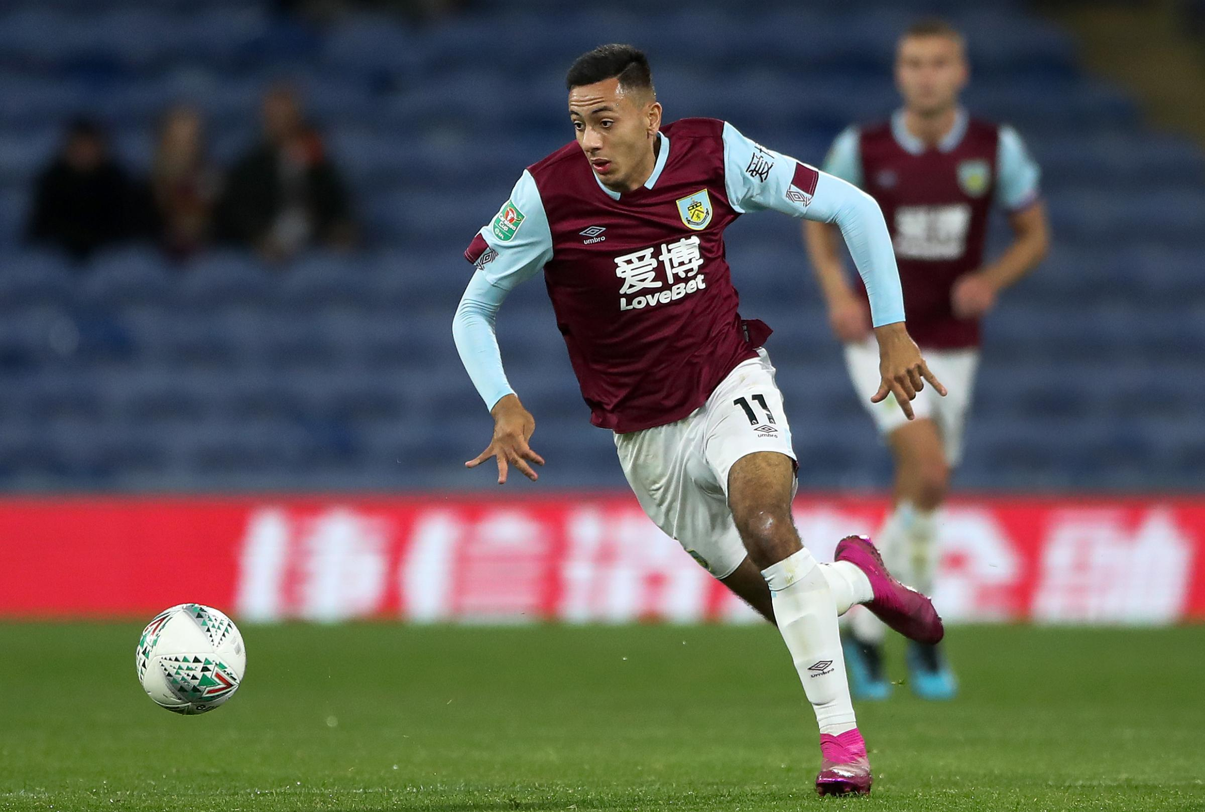 Dwight McNeil thanks team-mates and Sean Dyche for rise