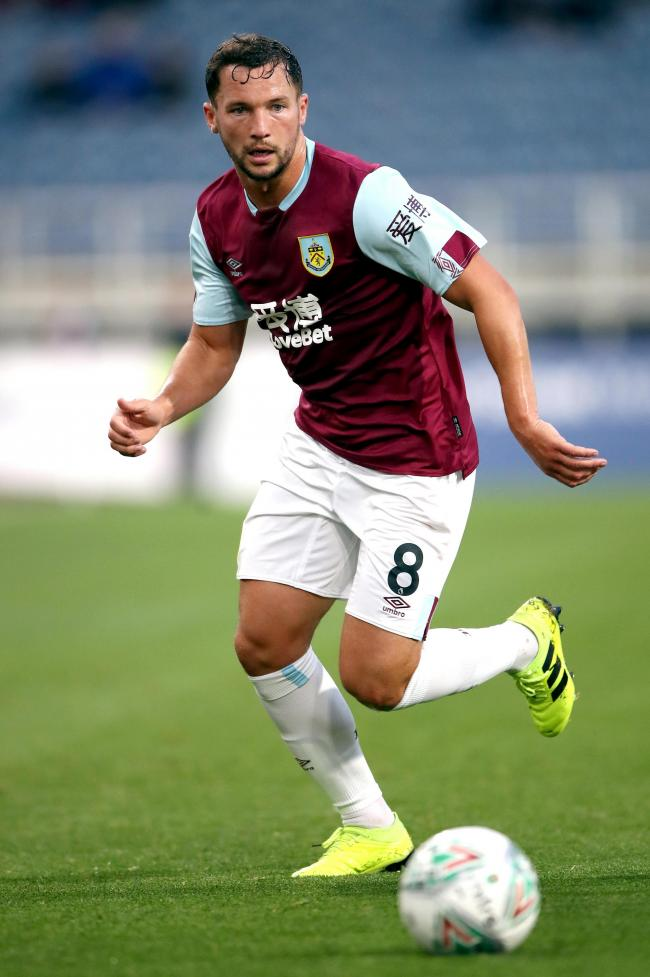 Danny Drinkwater is on loan at Burnley from Chelsea