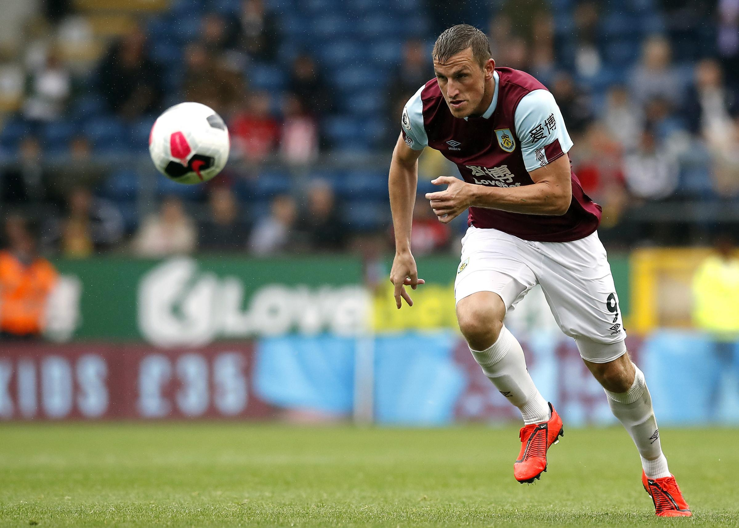 Burnley striker Chris Wood confident he'll be in goals soon