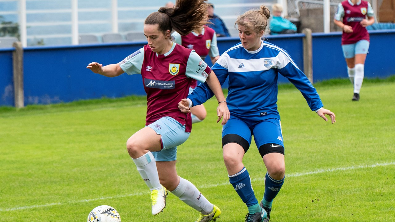 Burnley Women continue fine start with nine-goal cup win